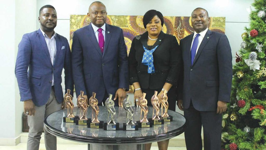 Fidelity Bank CEO receives eight awards for Tough Job campaign